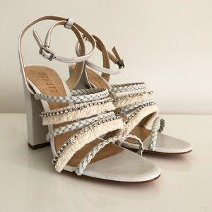 SCHUTZ Milina Sandal in Pearl 7